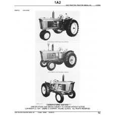 John Deere 3020 Parts Manual