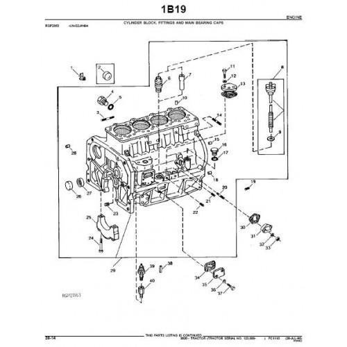 John Deere 3020 Parts Manual from serialnr 123000