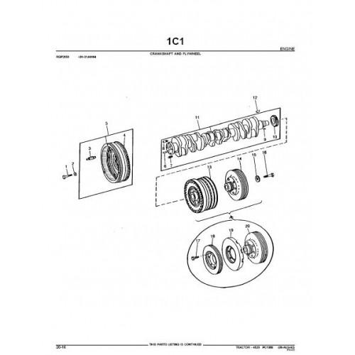 John Deere 4520 Parts Manual