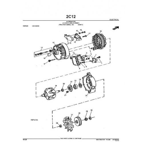 John Deere 4630 Parts Manual