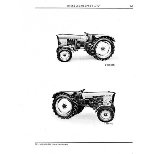 John Deere 710 Parts Manual