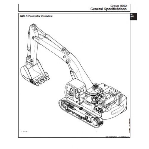 John Deere 550LC Workshop Manual