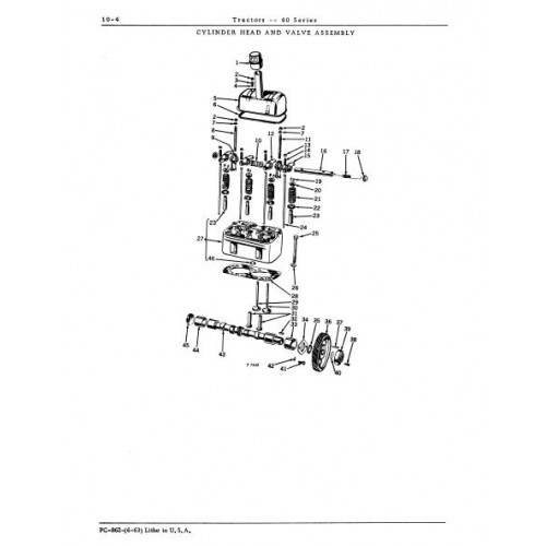 John Deere 40 Series Parts Manual