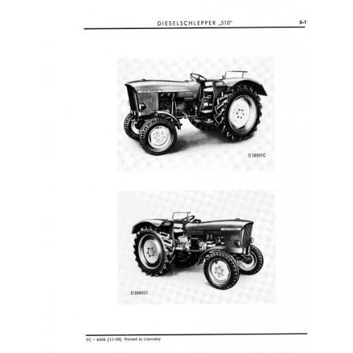 John Deere 510 Parts Manual