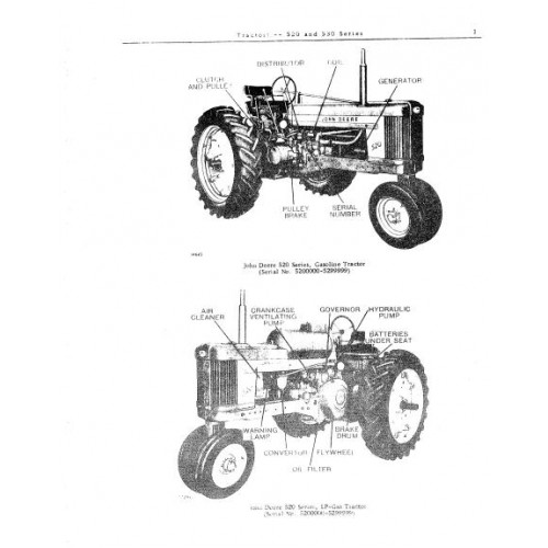 JOHN DEERE 530 BALER PARTS MANUAL - Auto Electrical Wiring Diagram