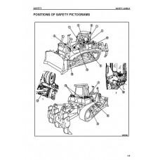 Komatsu D155AX-5 Operators Manual