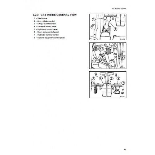 Komatsu PC110R-1 Operators Manual