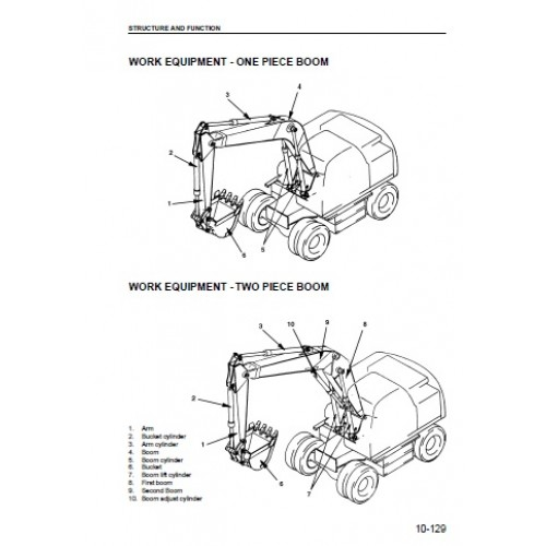 Komatsu PW130ES-6K Workshop Manual