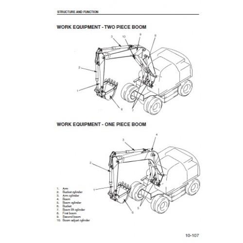 Komatsu PW170ES-6K Workshop Manual