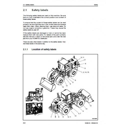Komatsu WA380-6H Operators Manual
