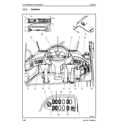 Komatsu WA470-6 Operators Manual