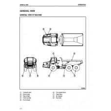 Komatsu HM350-1 Galeo Operators Manual