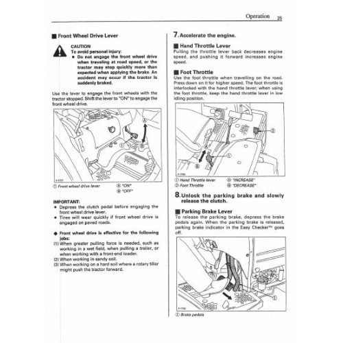 Kubota L35 Maintenance Manual download