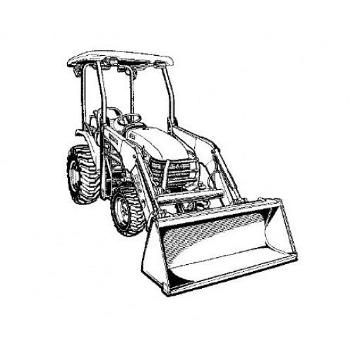 Kubota B26 Parts Manual