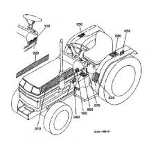 Kubota B1550E Parts Manual