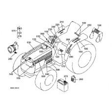 Kubota B1700D Parts Manual