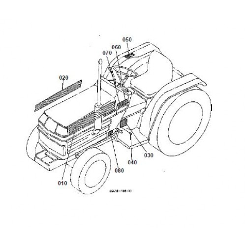 Kubota B2150HSD Parts Manual