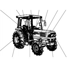 Kubota L4610DT-HST Parts Manual