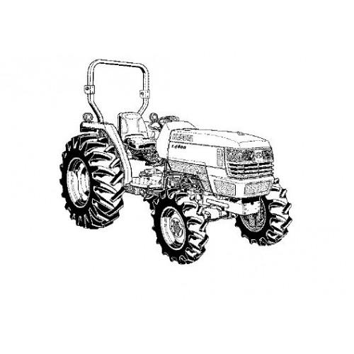 Kubota L4400H Parts Manual