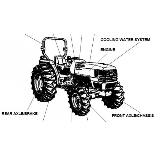 Kubota L4400DT Parts Manual
