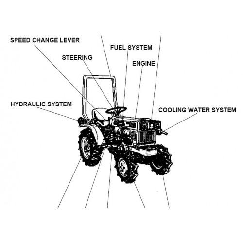 Kubota B4200D Parts Manual