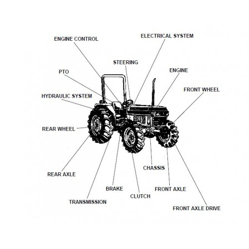 Kubota L4150DT Parts Manual