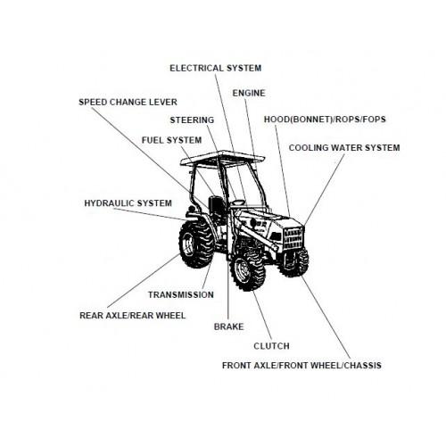 Kubota L35 Parts Manual