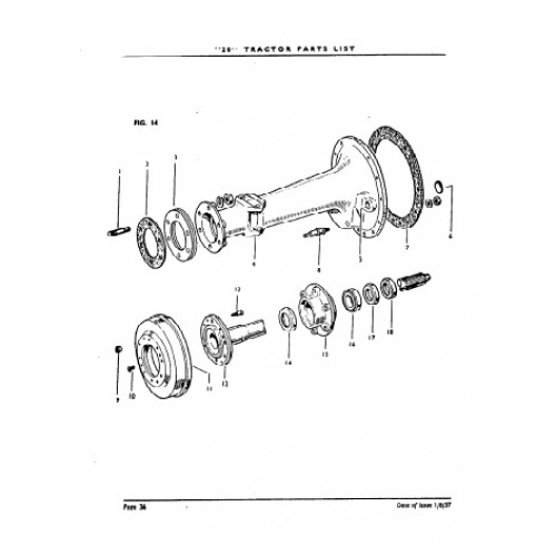 Ferguson TE20 Parts Manual