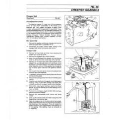 Kubota Wiring Diagram Pdf Cat 45 Massey Ferguson Mf 390 - 390t 393 396 398 399 Workshop Manual
