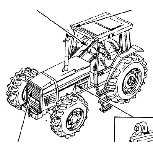 Massey Ferguson MF 3690 Parts Manual
