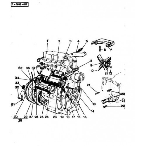 Massey Ferguson MF 135 Parts Manual