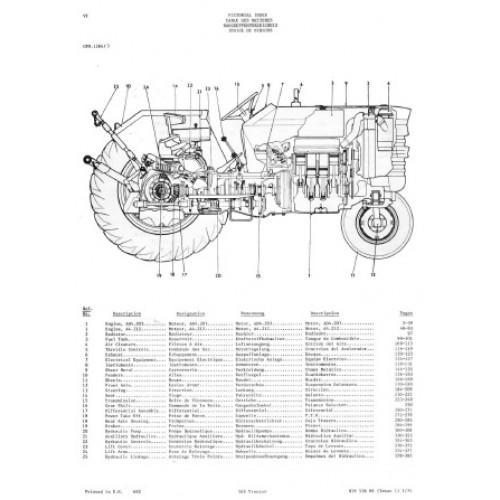 Massey Ferguson 165 Parts Manual