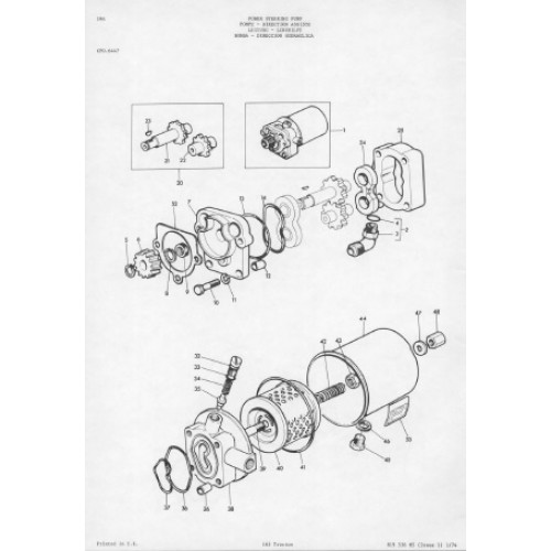 Massey Ferguson 165 Parts Manual