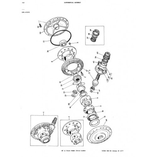 Massey Ferguson MF 11 Parts Manual