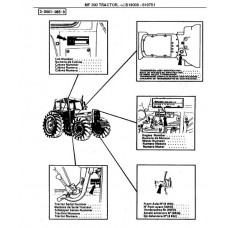 Massey Ferguson MF 390 Parts Manual