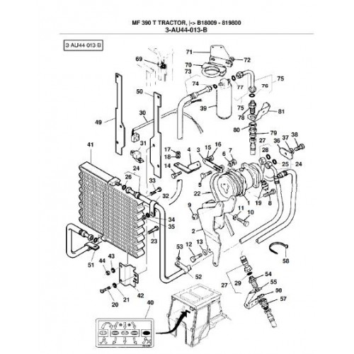 Massey Ferguson MF 390T Parts Manual
