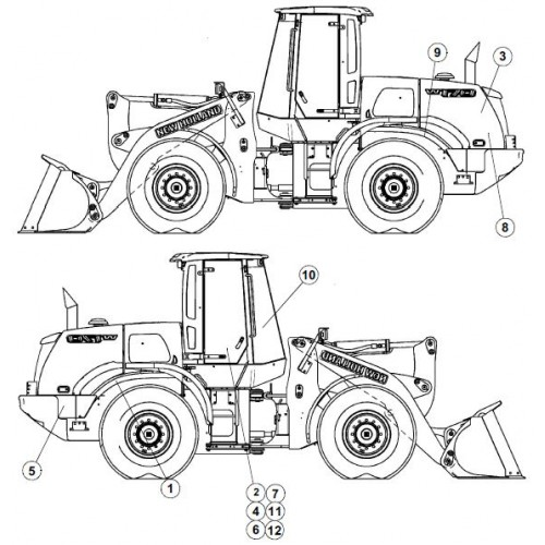 New Holland W170B Workshop Manual