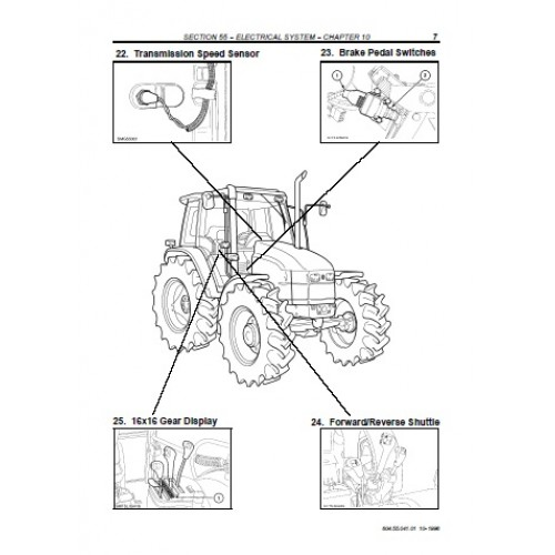 New Holland Tractor T6020 Wiring Diagram : Nordic Ware