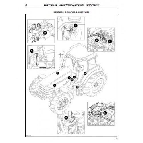 New Holland Tn55 Tn65 Tn70 Tn75 Repair Manual