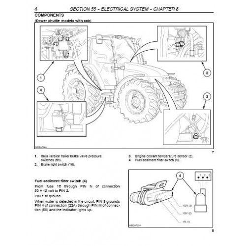 New Holland Tl100 Fuse Box New Holland TL90 Wiring Diagram