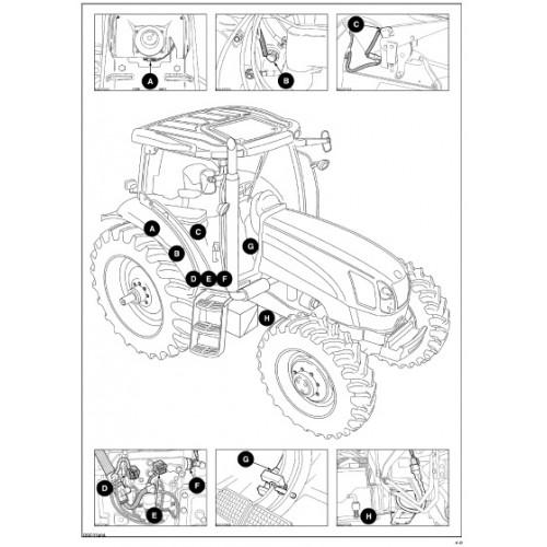 Ford Tl100 Tractor Fuse Box. Ford. Auto Fuse Box Diagram