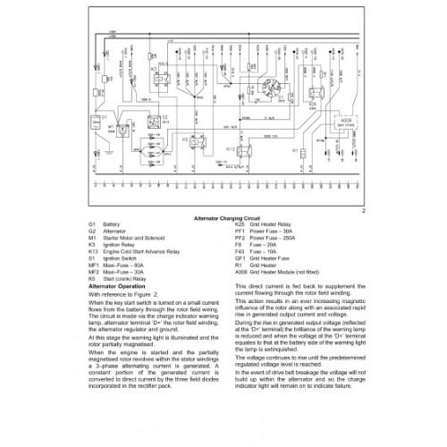 John Deere Bo Wiring Diagram New Holland Ts100a Ts110a Ts115a Ts125a Ts135a