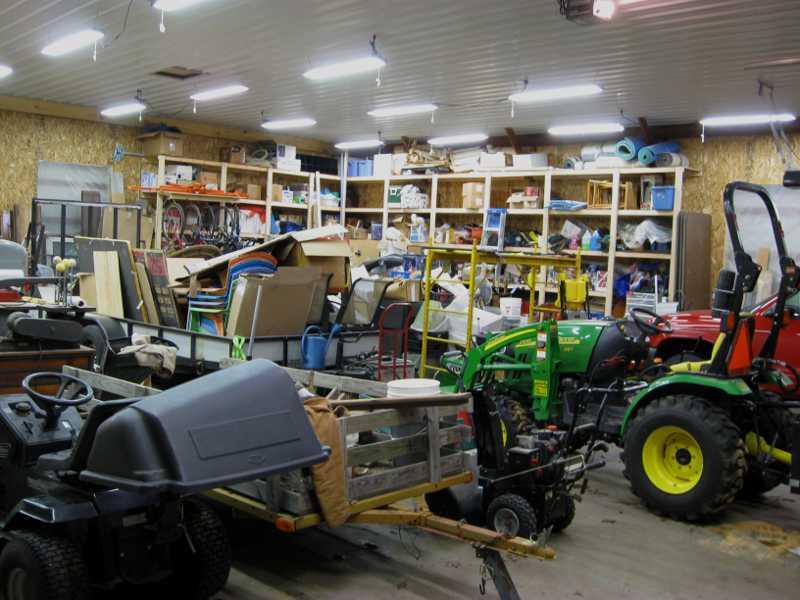 spacing pole barn lights tractorbynet