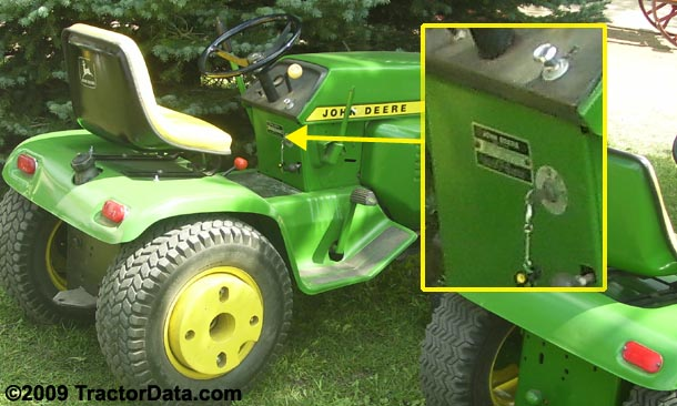 john deere 212 wiring diagram janitrol thermostat hpt 18 60 tractordata com 210 tractor information photo of serial number