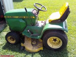 TractorData John Deere 214 tractor photos information