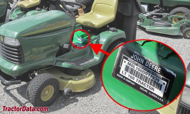 John Deere Lt160 Wiring Diagram Tractordata Com John Deere Lt160 Tractor Information