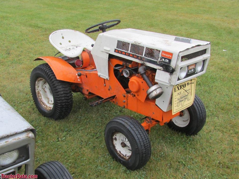 1970 Sears Garden Tractor
