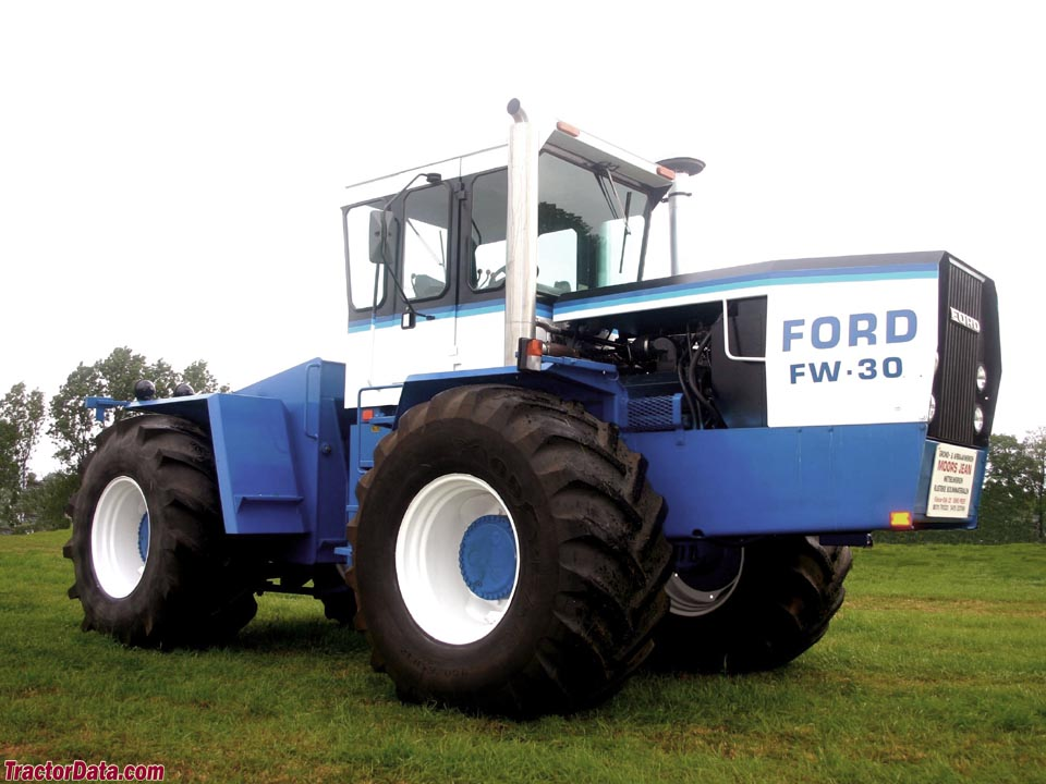 TractorDatacom Ford FW30 tractor photos information