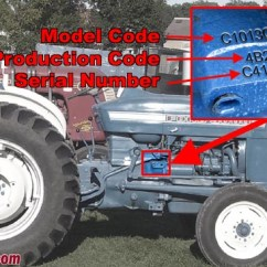1964 Ford 4000 Tractor Wiring Diagram Air Arms S410 Parts Tractordata Com 3000 Information Photo Of Serial Number