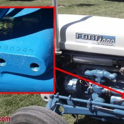 1964 Ford 2000 Tractor Wiring Diagram Huskee Lawn Mower Parts Tractordata.com 4000 Information